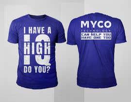 #168 untuk High IQ T-Shirt Design Contest oleh rashedul1012
