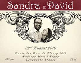 #21 untuk Design a wine bottle label for a wedding! oleh BuddyArts