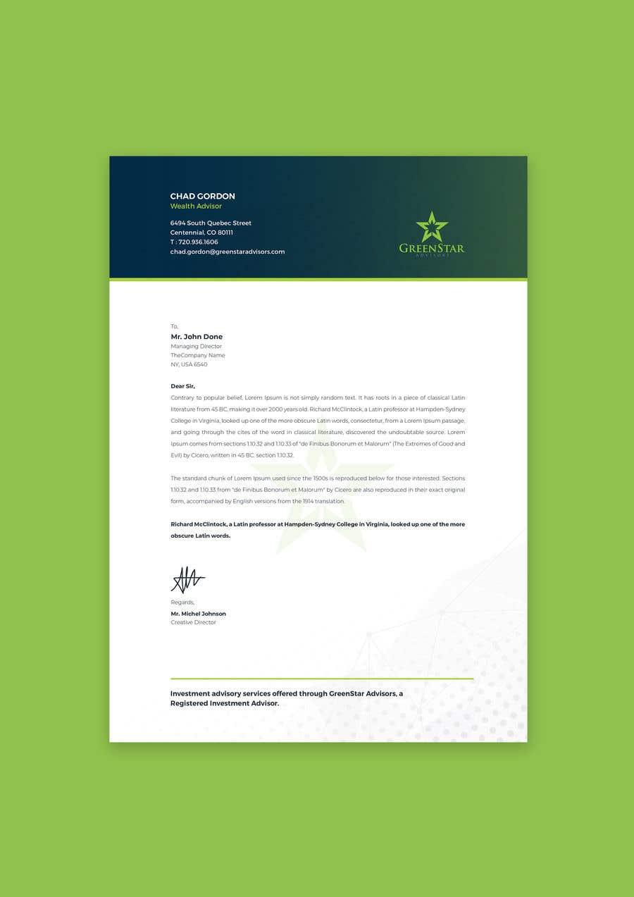 "Penyertaan Peraduan #                                        137                                      untuk                                         Design a Letterhead, Agenda, Microsoft Word ""Style Set"""