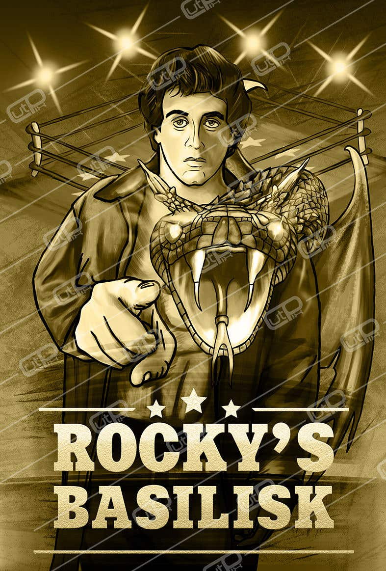 Contest Entry #                                        28                                      for                                         Rocky's Basilisk movie poster