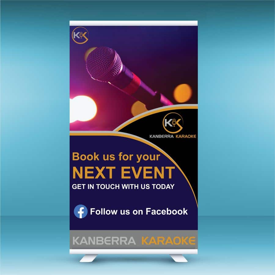Contest Entry #                                        17                                      for                                         Pull Up Banners - For my Karaoke Business.