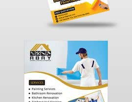 #51 for build me a flyer for  house painting company by miloroy13