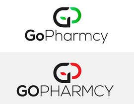 #132 untuk Create a logo for my GoPharmcy.com e-commerce business for medicine deLivery at door step oleh salimsarker