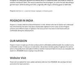 #9 cho Brand Profile for my brand 'PEIGNOIR' bởi navidzaman001
