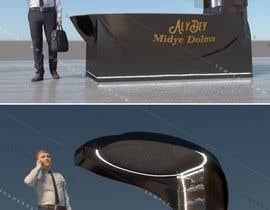 Digiartvale님에 의한 mall Kiosk stand design 2m x 3m  H 2.5을(를) 위한 #38