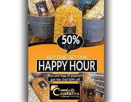 #60 for Create a flyer for Happy Hour by Uniquerobiul