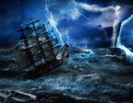 #3 untuk Illustration Re-Do (Ship in Stormy Sea) oleh LeandroPerez16