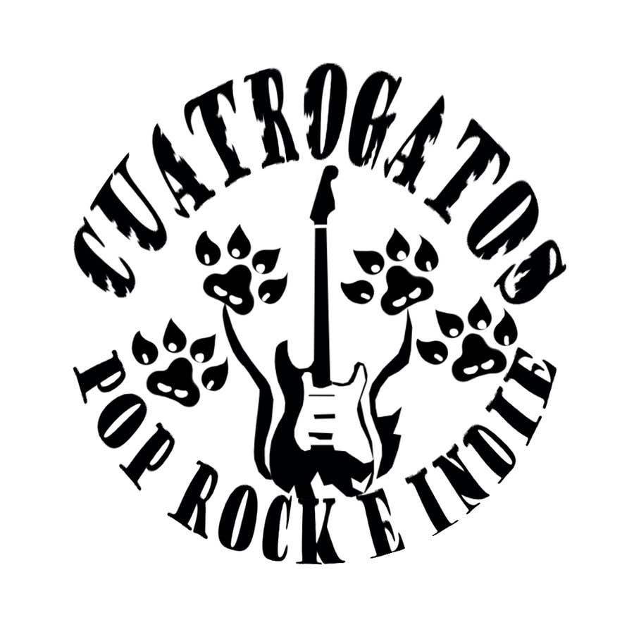 Inscrição nº                                         21                                      do Concurso para                                         Logotipo para banda de rock // Logo for a rock band