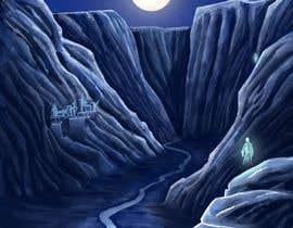 #102 for Nightwalker Cover Art - Spooky YA Fantasy by raulzmra
