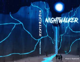 nº 391 pour Nightwalker Cover Art - Spooky YA Fantasy par matrix3x