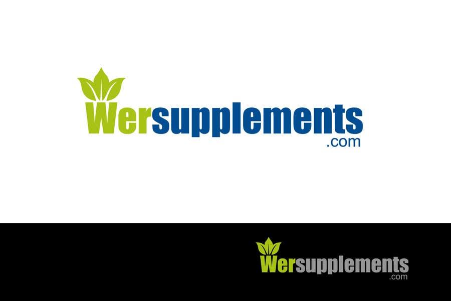 Inscrição nº 194 do Concurso para Design a Logo for wersupplements