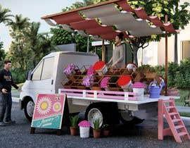 Nro 6 kilpailuun Tuktuk Flower Stall Design käyttäjältä jreyesfle