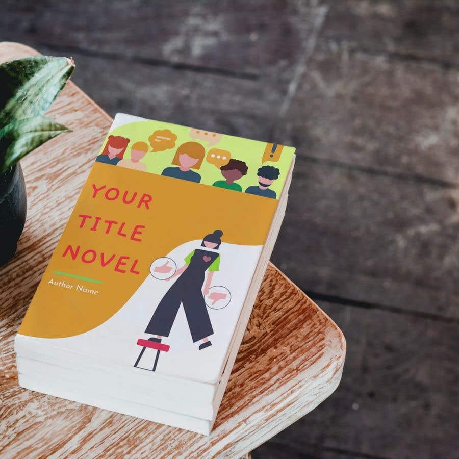 Kilpailutyö #                                        28                                      kilpailussa                                         Illustrator for Novel Cover Design (Fiction)