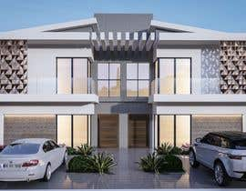 #6 for Facade duplex house proposal desing by syslim