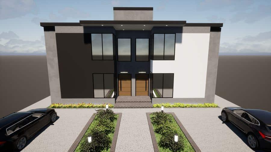 Konkurrenceindlæg #                                        12                                      for                                         Facade duplex house proposal desing