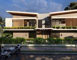 #5 for Facade duplex house proposal desing by jreyesfle