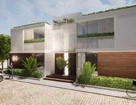 #16 for Facade duplex house proposal desing by AmitjosephKurien