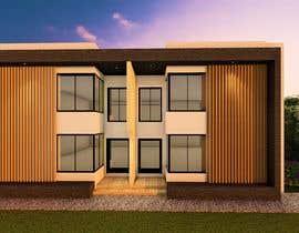 #10 for Facade duplex house proposal desing by archhasib