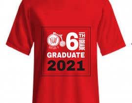 #28 untuk Northwood class of 2021 t shirt design oleh kaziilias