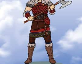 Nro 9 kilpailuun Create an Viking Image käyttäjältä zarieffin