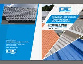 #25 untuk Design a cover for high-end metal roof colour chart oleh mostofafx