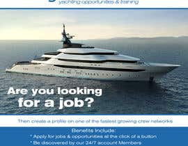#8 untuk Design a Flyer for Yotspot (a superyacht recruitment company) oleh bojandjordjevic