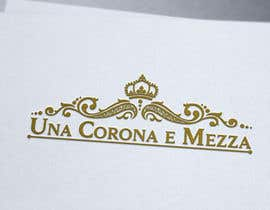 #51 for Disegnare un Logo for Una corona e mezza (home restaurant) by eddesignswork