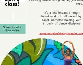 #26 for A4 POSTER FOR BARRE CLASS by THEONECOP