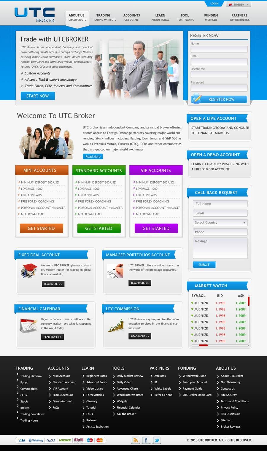 Bài tham dự cuộc thi #                                        11                                      cho                                         Design a Website Mockup for finance website