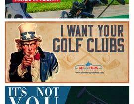 Nro 16 kilpailuun Golf Shop Advertising Pictures / Designs käyttäjältä onajessie