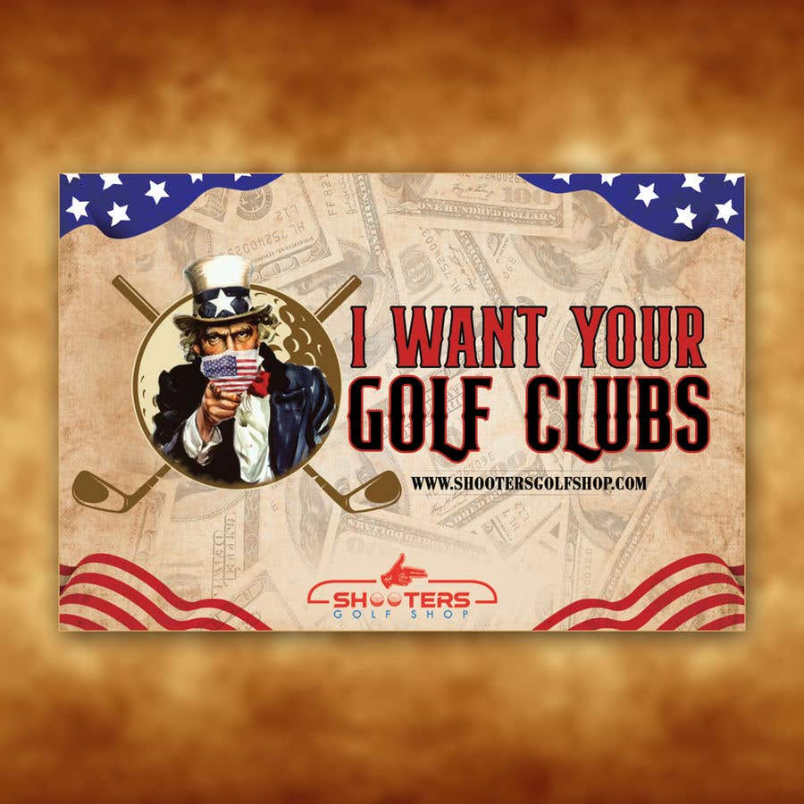 Kilpailutyö #                                        25                                      kilpailussa                                         Golf Shop Advertising Pictures / Designs