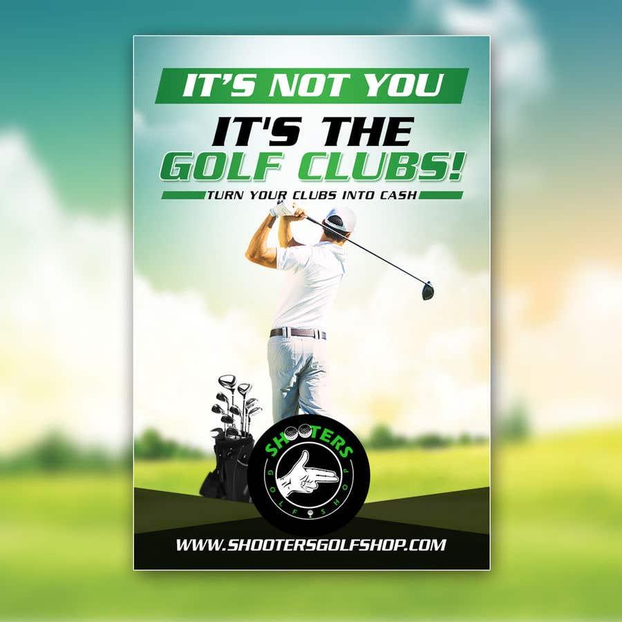 Kilpailutyö #                                        27                                      kilpailussa                                         Golf Shop Advertising Pictures / Designs