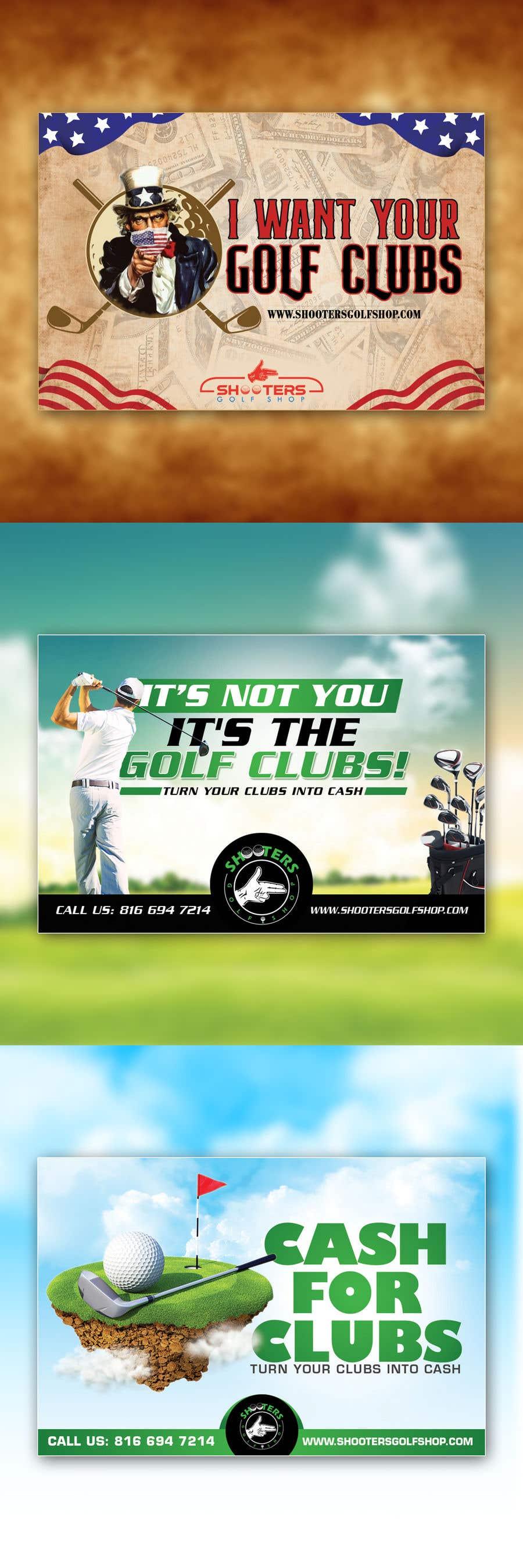 Kilpailutyö #                                        29                                      kilpailussa                                         Golf Shop Advertising Pictures / Designs