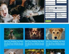 Nro 23 kilpailuun Create a website mockup for a business that offers pet health certificates käyttäjältä affanfa