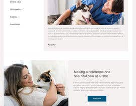 Nro 10 kilpailuun Create a website mockup for a business that offers pet health certificates käyttäjältä smunonymous