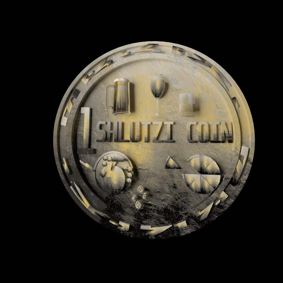 Contest Entry #                                        14                                      for                                         Design a 3D coin for me to 3D print