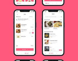 ftRabby tarafından Grocery & Food App design için no 285
