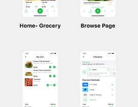UIJeel tarafından Grocery & Food App design için no 139