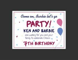 #479 for Child brithday party invitation by SAIFULLA1991