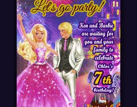 #161 for Child brithday party invitation by shamimbss