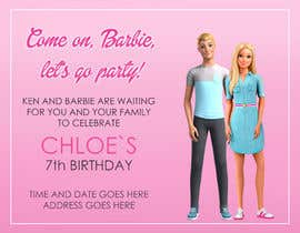 #279 for Child brithday party invitation by hristinalabus