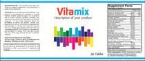 Graphic Design Entri Peraduan #40 for Creating Vitamin Bottle Labels - Will pick 10 Winners