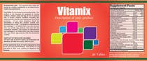 Graphic Design Entri Peraduan #45 for Creating Vitamin Bottle Labels - Will pick 10 Winners