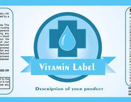 #55 para Creating Vitamin Bottle Labels - Will pick 10 Winners por preethamdesigns