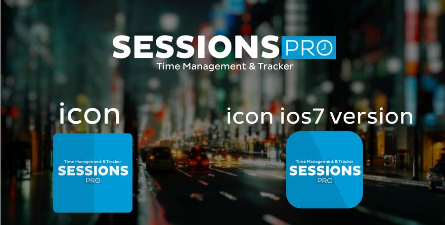 Konkurrenceindlæg #                                        23                                      for                                         Design a Logo for Sessions Pro Application