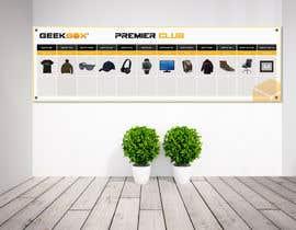 Nro 3 kilpailuun Design a Prize Banner for Company Wall (90 Inches (H) x 300 Inches (W)) käyttäjältä Khalilmz