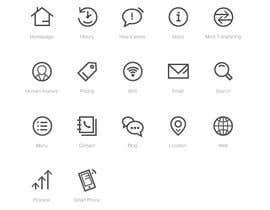 #6 cho Icon Set Needed in Illustrator for a project based in 2045 bởi Piraruka