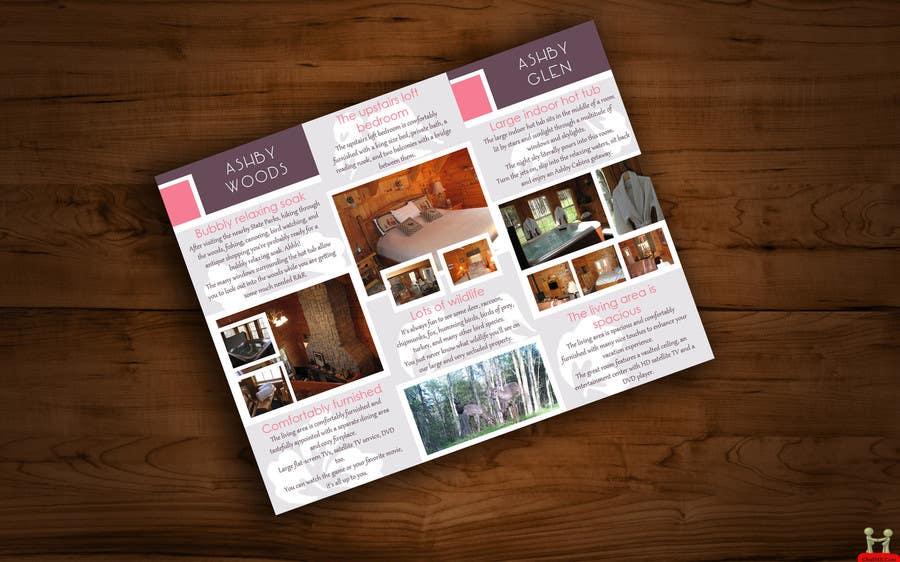 Penyertaan Peraduan #18 untuk Design a Brochure for Ashby Cabins