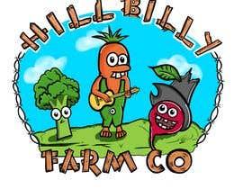 #63 for 'HillBilly Farm Co' logo design by kalerproduction