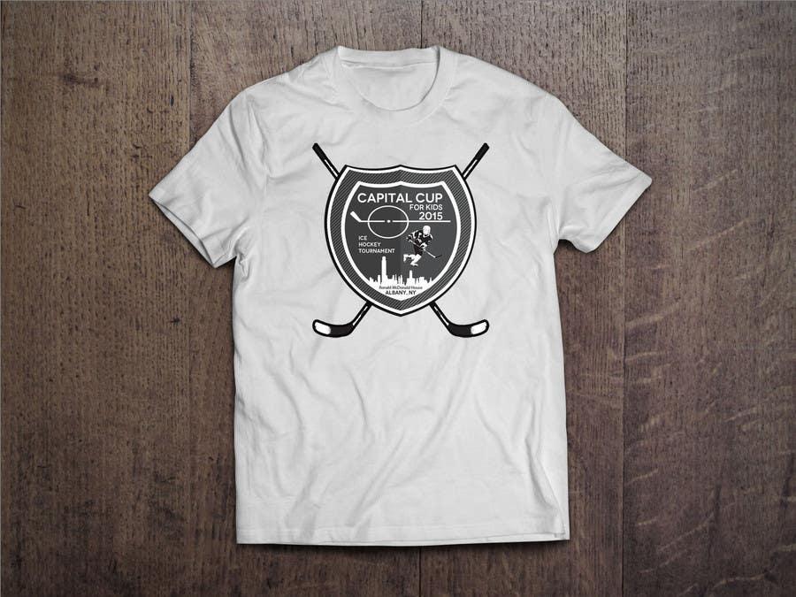 Contest Entry #34 for Design a T-Shirt for a hockey tournament